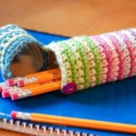 Crochet Case for Pencils – Perfect for Back to School!