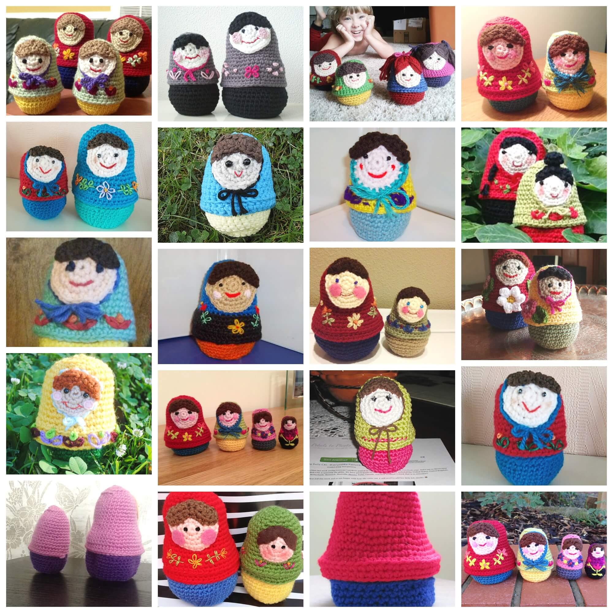 let u0027s have a cal u2026 crochet matryoshka nesting dolls petals to