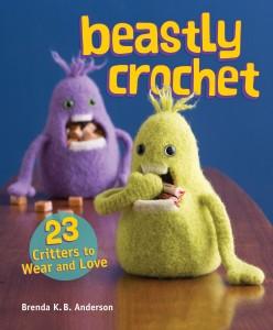 Beastly Crochet jacket art