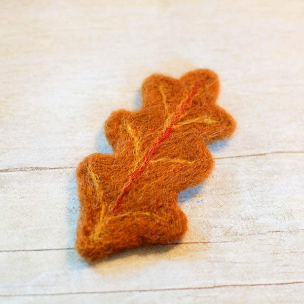 easy needle felting with cookie cutters