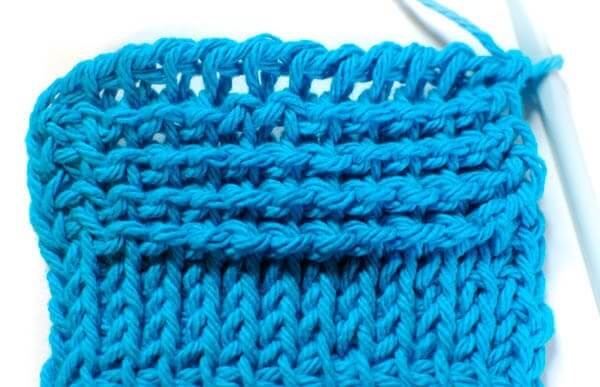How To Do A Knit Stitch And Purl Stitch : How to do Tunisian Reverse Stitch Petals to Picots