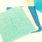 Sampler Washcloth Tunisian Crochet Pattern