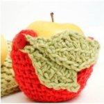 Monster Apple Crochet Cozy