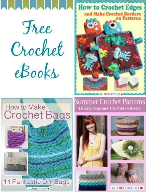 free crochet ebooks