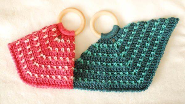 Teether Lovey Free Crochet Pattern | www.petalstopicots.com | #crochet