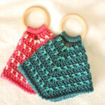 Two-Color Teether Lovey Crochet Pattern