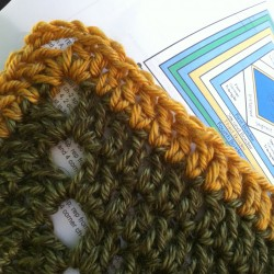 lion brand crochet along