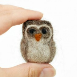 needle felted owl thumbnail
