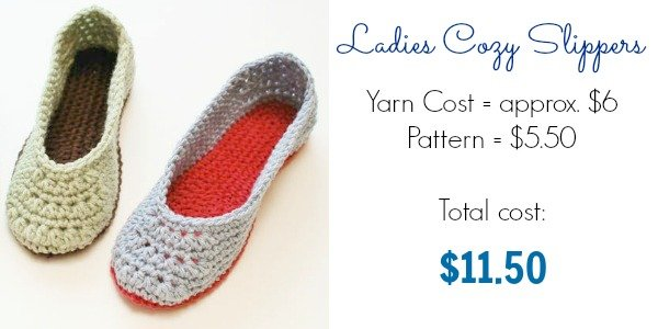 Ladies Cozy Slippers