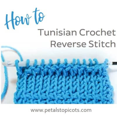 How to Tunisian Reverse Stitch