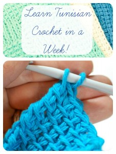 Learn Tunisian Crochet in a week