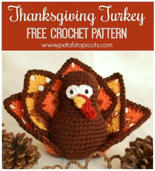 Thanksgiving Turkey ... Free Crochet Pattern