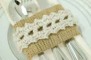 crochet napkin ring pattern