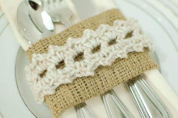 Wedding Napkin Ring 66 Stunning crochet napkin ring pattern