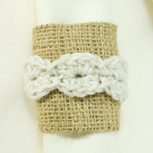 crochet napkin ring pattern