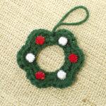 Little wreath crochet pattern