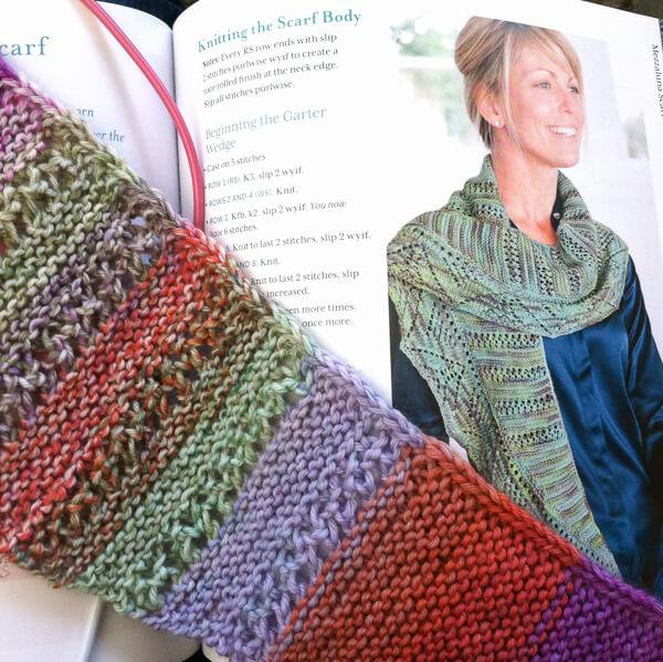 mezzaluna scarf