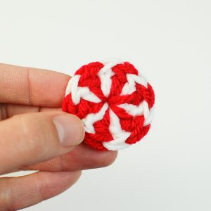 peppermint candy crochet pattern