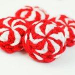 Peppermint Candies Christmas Crochet Pattern