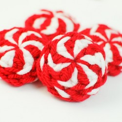 peppermint candies Christmas crochet pattern-19