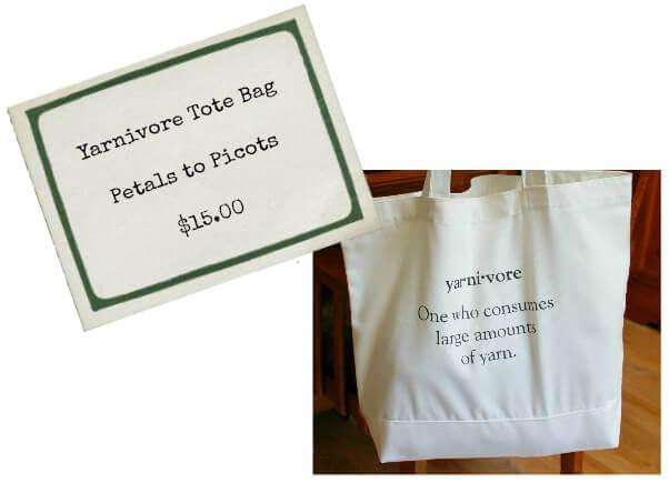 Yarnivore Canvas Project Tote Bag