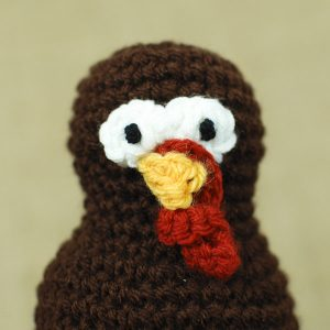 Thanksgiving Turkey Crochet Pattern | www.petalstopicots.com