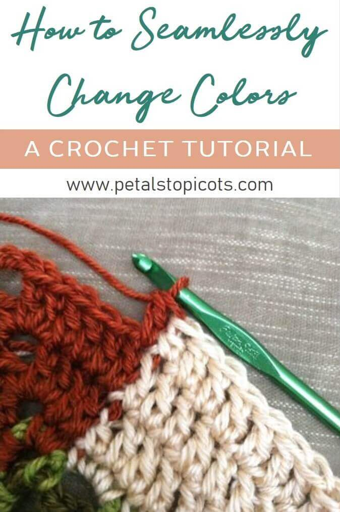 How to Seamlessly Change Colors in Crochet