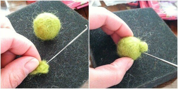 Angry Bird Bad Piggy Needlefelting Tutorial