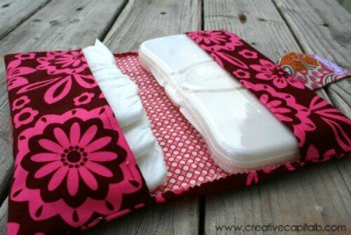 Easy Diaper and Wipes Carrier