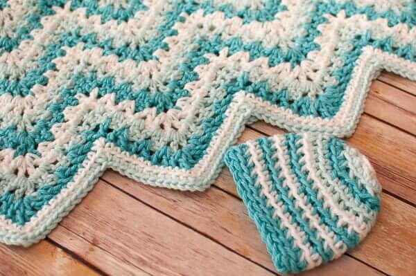 Pics Photos - Baby Blanket Crochet Ripple Jpg How To ...