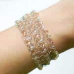 Beaded Wire Crochet Bracelet Pattern