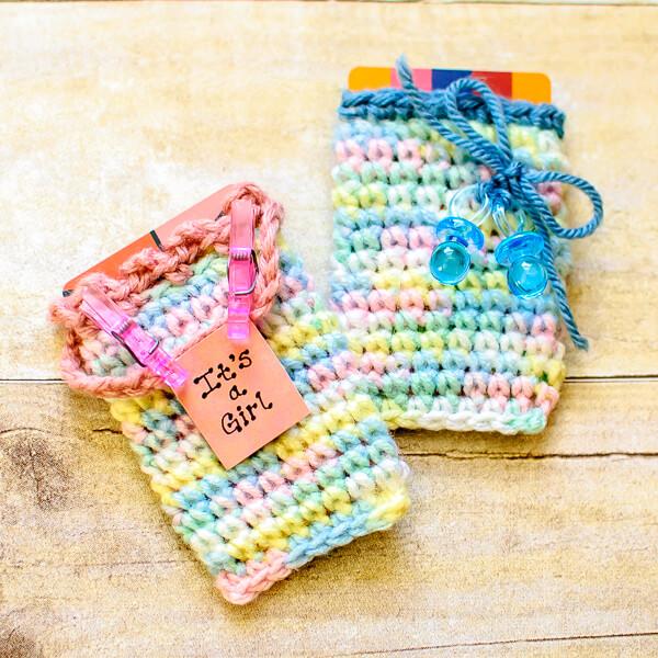 Crochet Gift Card Holder Pattern