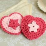Crochet Heart Sachet Pattern … Valentine Gift Idea!