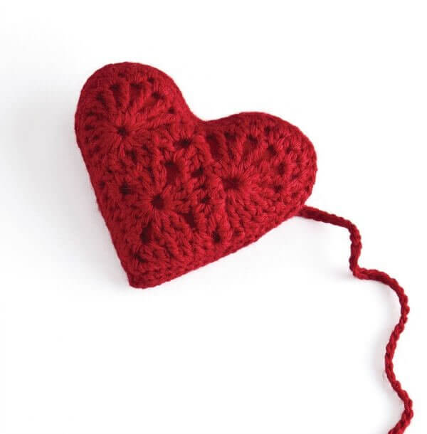 Stitch Red Heart Sachet