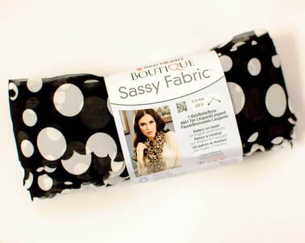 Red Heart Sassy Fabric