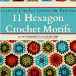 Free Crochet eBook … Learn to Crochet Geometric Patterns: 11 Hexagon Crochet Motifs