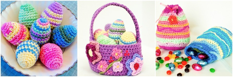 Free Easter crochet patterns | www.petalstopicots.com | #crochet #Easter