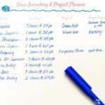 Free Yarn Inventory and Project Planner Printable