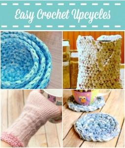 crochet upcycles