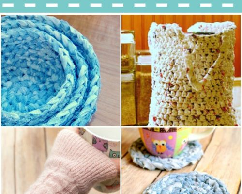 crochet upcycles