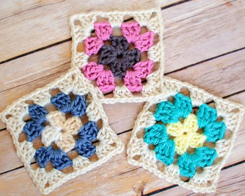 basic granny square pattern (3 of 4)