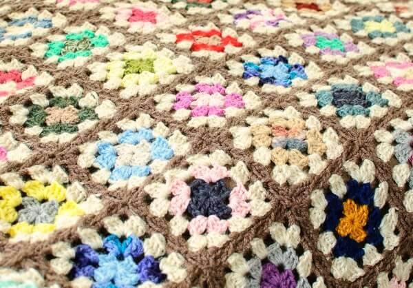 free granny square afghan pattern