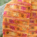 Knit Accent Scarf Knitting Pattern
