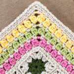 Cluster Burst Afghan Crochet Edging Pattern