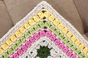 Cluster Burst Crochet Edging Pattern