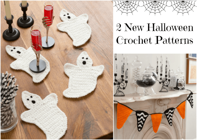 2 New Halloween Crochet Patterns by Kara Gunza