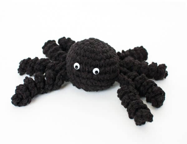 Halloween Spider Crochet Pattern