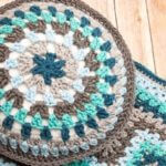 Round Granny Pillow Pattern