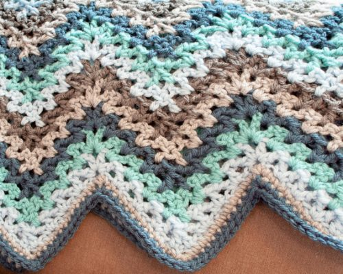 Lacy Ripple Afghan and Granny Pillow Pattern_10_2014-4