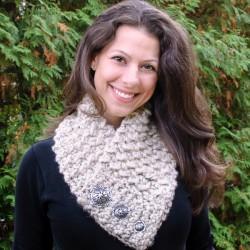 Lion Brand Scarfie Crochet Cowl Pattern-2-2